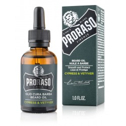 PRORASO Beard Oil Cypress &...