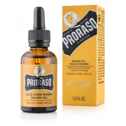 PRORASO Beard Oil Wood &...