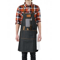 BARBER APRON DENIM