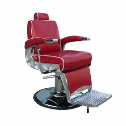 1o1BARBERS BARBER CHAIR 10 RED