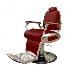 1o1BARBERS BARBER CHAIR 11 RED