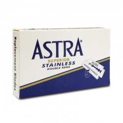 ASTRA STAINLESS BLUE DOUBLE...
