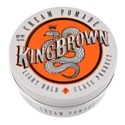 KING BROWN CREAM POMADE 75G